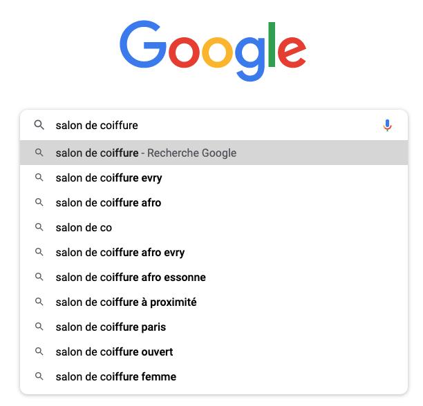 résultat recherche google - beez media - agence de référencement google